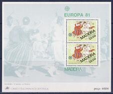 BLOC  Portugal  Madeira  Europa 1981