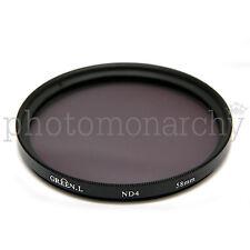 FILTRO neutro ND4 da 58mm 2 stop Canon Nikon Sony Tamron Sigma Pentax 58 mm ND 4
