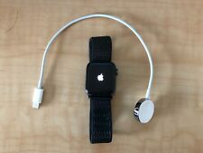 Apple Watch Series 4 Nike+ 40 mm Space Gray Aluminum Case with Black Nike Sport