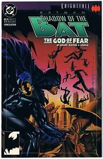 1993 Knightfall Batman Shadow Of The Bat The God Of Fear 18 Conclusion DC Comic