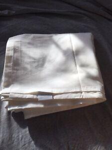VGC Linea Super King Flat Sheet Cream
