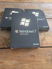 Windows 7 Ultimate, Retail Vollversion,Englisch, 32 und 64 bit mit MwSt Rechnung