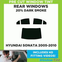 35/% Light Smoke 2010 and newer Alfa Romeo Giulietta 5-door Hatchback Front windows Pre cut window tint