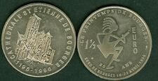 1,5 EURO  TEMPORAIRE DES VILLES DE BOURGES 1996  ETAT  NEUF