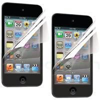 2x Pellicola display trasparente per Apple iPod Touch 4 4G protezione schermo