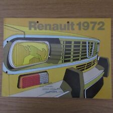 RENAULT 4 6 12TL 12 Estate 16TL 16TS 16 TL TS UK Market Range Brochure 1972