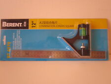 BERENT ADJUSTABLE COMBINATION SQUARE. 300M. STEEL