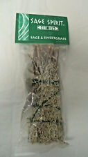 "Sage & Sweetgrass Smudge Stick: 7 "" House Cleansing Remove Negative Energy"