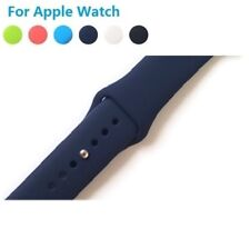 Apple Watch 38 mm 42mm iWatch Silicone Wrist Strap Band Bracelet Replacement ZZ