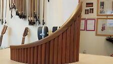 Romanian professional Pan Flute,22 pipes,alto Hora Romania, mahogany+soft case