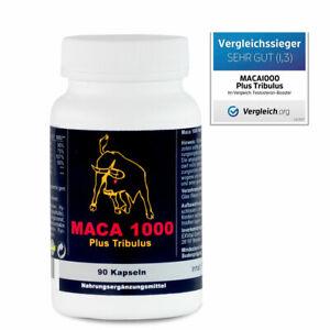 Maca 1000 plus Tribulus, Maca und Tribulus ideal kombiniert in einem Produkt
