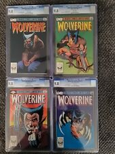 Wolverine Limited Series #1-4 CGC ALL 9.8 WHITE PAGES 💥💥💥💥💥 ABSOLUTELY FIRE