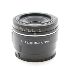 NEW SONY DT 30mm F2.8 Macro SAM Lens for A Mount APS-C (SAL30M28)