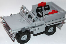 original LEGO NEW PARTS - off road RECO SAS CAR - PINKIE - my design