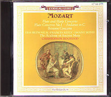 Christopher HOGWOOD: MOZART Harp Flute Bassoon Concerto CD Lisa Beznosiuk Bond