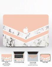 Grey Marble Macbook Pro 13 15 2017 Sticker Pink Geometric Macbook Retina 13 Skin
