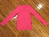 Champion Women's Pink Yoga Athletic Running Shirt Top Size M