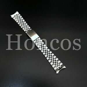 19MM SILVER STEEL JUBILEE BAND STRAP BRACELET FOR TUDOR PRINCE OYSTER DATE