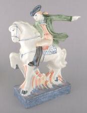 Rye Pottery American Heroes Series Figurine - Paul Revere On Horseback