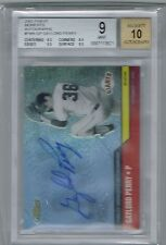 2002 TOPPS FINEST MOMENTS GAYLORD PERRY AUTO BGS 9 MINT W/ 10 AUTOGRAPH GIANTS