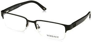Versace VE1184 Eyeglasses-1261 Matte Black-53mm