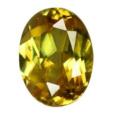 6 x 5 mm Top AAA Golden Yellow Sphene Titanite UnHeated Natural RARE Gemstones