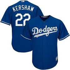 Clayton Kershaw #22 Los Angeles Dodgers Royal Blue Majestic Cool Base Jersey