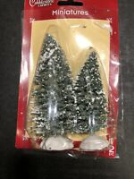 Cobblestone Corners Miniature Christmas Trees For Villages And Trains