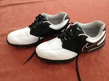 NIKE GOLF SHOES. Men's . White/black. size 9