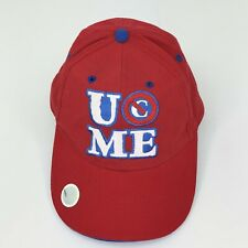 U Cant See Me John Cena Red Hat Cap WWE Adjustable c44