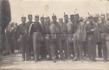 Romania Serbia Military Photo -Romanian Serbia Wwi Decorated Veterans 1920 Photo