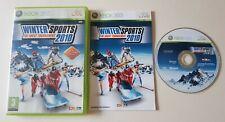 Winter Sports 2010 The Great Tournament Xbox 360 Spiel-komplett