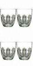 Waterford Crystal Dungarvan Double Old Fashioned, Pair Two Pairs 4 Glasses New