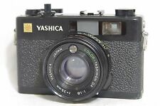 Yashica Electro 35 CC Film Camera SN30100849 w/Color-Yashinon DX 35mm F/1.8 Lens