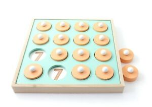 Wood Toys, Wooden, Montessori Toy, Memory Matching Game for Kids Children