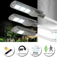 20W/40W/60W LED Solar Powered Street Light PIR Motion Outdoor Garden Sensor Lamp