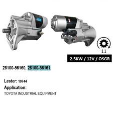 New Starter for Toyota Dyna 14B Engines 1984-1988 12V 2.5KW  11T  V116 2004-05