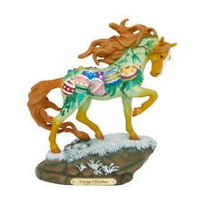 Vintage Christmas Painted Pony Figurine