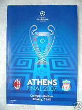 2007 UEFA Champions League Final AC MILAN v LIVERPOOL, 23 May (Athens FINAL)Org*