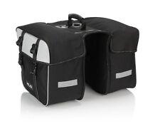 XLC Traveller Fahrrad Doppel Packtaschen schwarz grau NEU