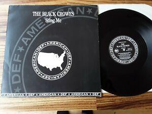 "The Black Crowes – Sting Me - UK 1992 promo 12"" NM"