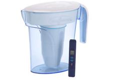 ZERO WATER PITCHER (ZP-006-4) 1.7L JUG DISPENSER FILTERS 96.6% CONTAMINANTS