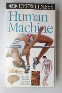 EYEWITNESS - HUMAN MACHINE VIDEO VHS DK VISION DORLING KINDERSLEY 1997 35 MINS
