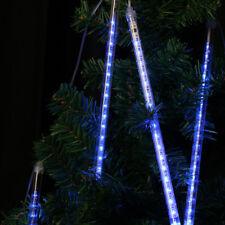 Neu Meteorschauer LED Lichterkette Lichter Sternschnuppe Regentropfen Eiszapfen