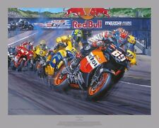 "Nicky Hayden, HAND SIGNED ""Perfect Day"" by Nicholas Watts"