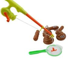 Fishing Tool For Floaters Game Kids Bathroom Novelty Toys Poop Poo Bath DB