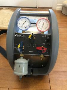Inficon Vortex AC Dual 714-202-G1 HVAC Refrigerant Recovery Unit Machine CLEAN!