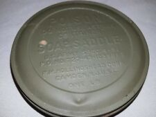 WW2 saddle soap 1943  new never issued