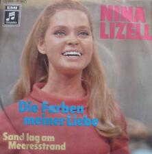"""7"""" 1971 IN MINT-! NINA LIZELL : Die Farben meiner Liebe"""