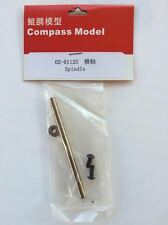 02-0112S Compass Model RC Helicopter Knight 50 Spindle Feathering Shaft New
